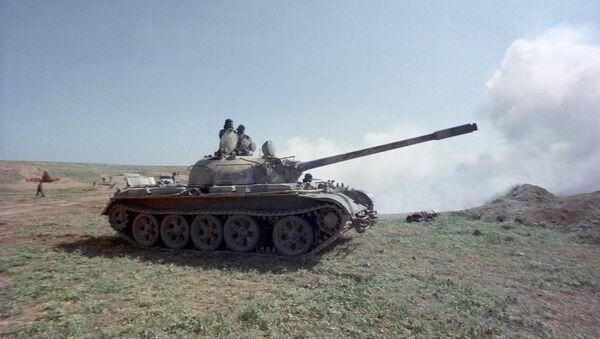 El tanque sirio T-55, creado en la URSS - Sputnik Mundo