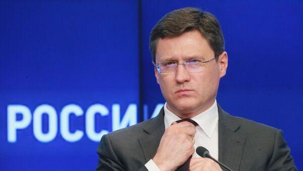 Alexandr Nóvak, el ministro ruso de Energía - Sputnik Mundo