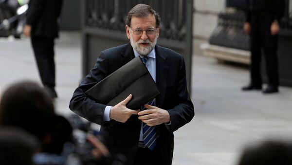 Mariano Rajoy, expresidente del Gobierno español - Sputnik Mundo
