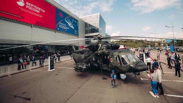 El helicóptero Mi-171Sh - Sputnik Mundo