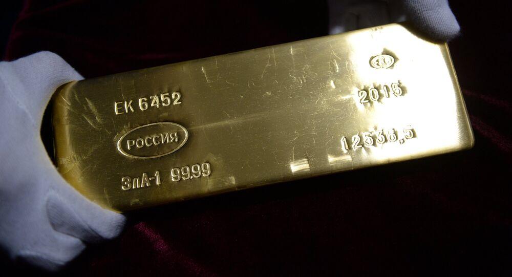Un lingote de oro (imagen referencial)