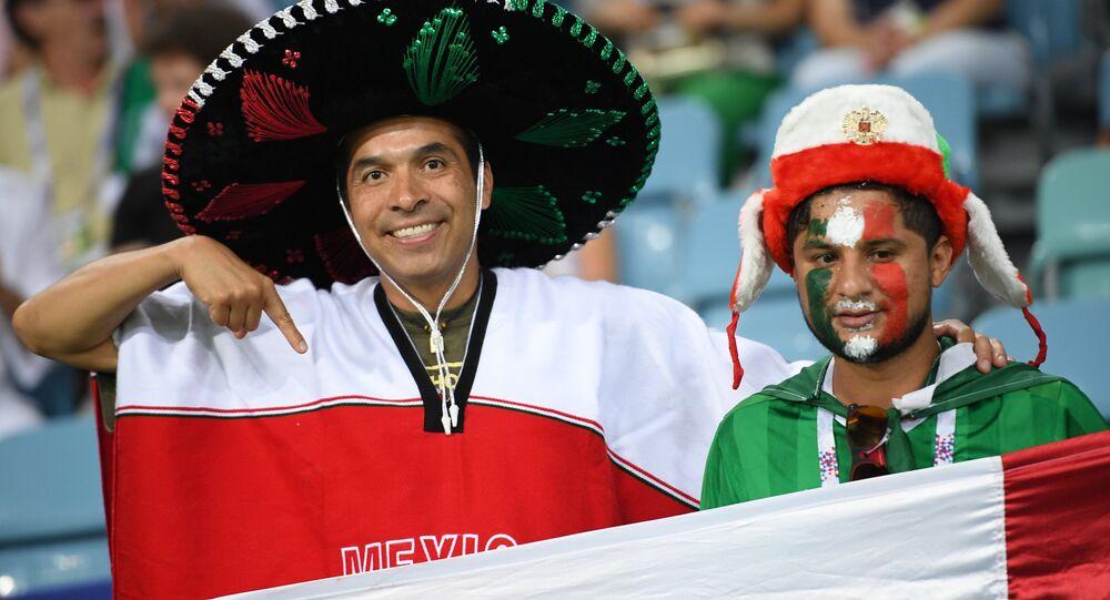Hinchas mexicanos (archivo)