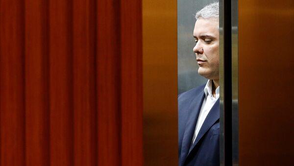 Iván Duque, candidato a la presidencia de Colombia - Sputnik Mundo