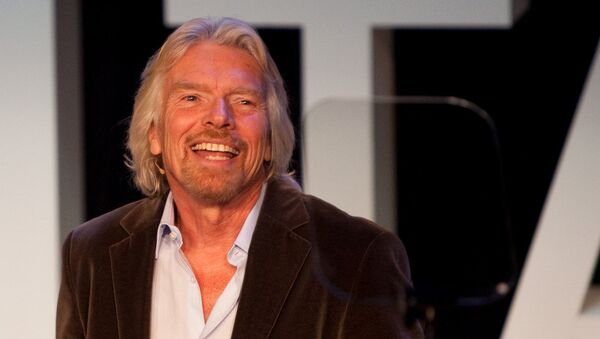 Richard Branson, fundador de Virgin - Sputnik Mundo