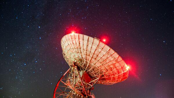 Un radiotelescopio - Sputnik Mundo