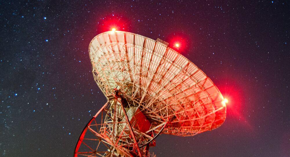Un radiotelescopio (imagen referencial)