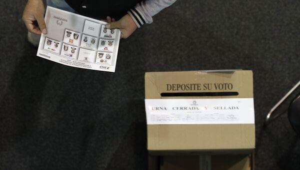 Elecciones presidenciales en Colombia - Sputnik Mundo