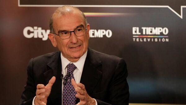 Humberto de la Calle, candidato presidencial colombiano - Sputnik Mundo