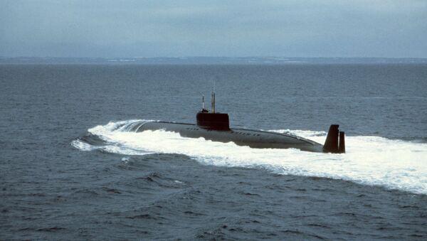 El sumergible atómico ruso K-162 'Anchar' - Sputnik Mundo