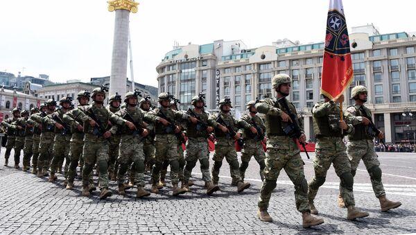 Militares georgianos - Sputnik Mundo
