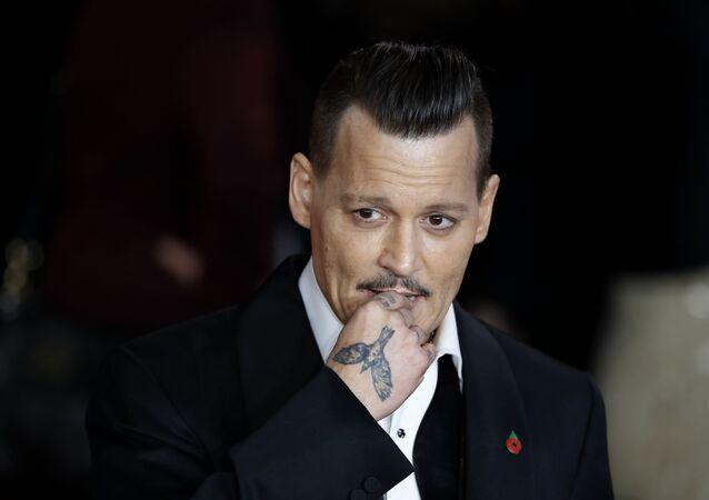 Johnny Depp, actor y músico estadounidense