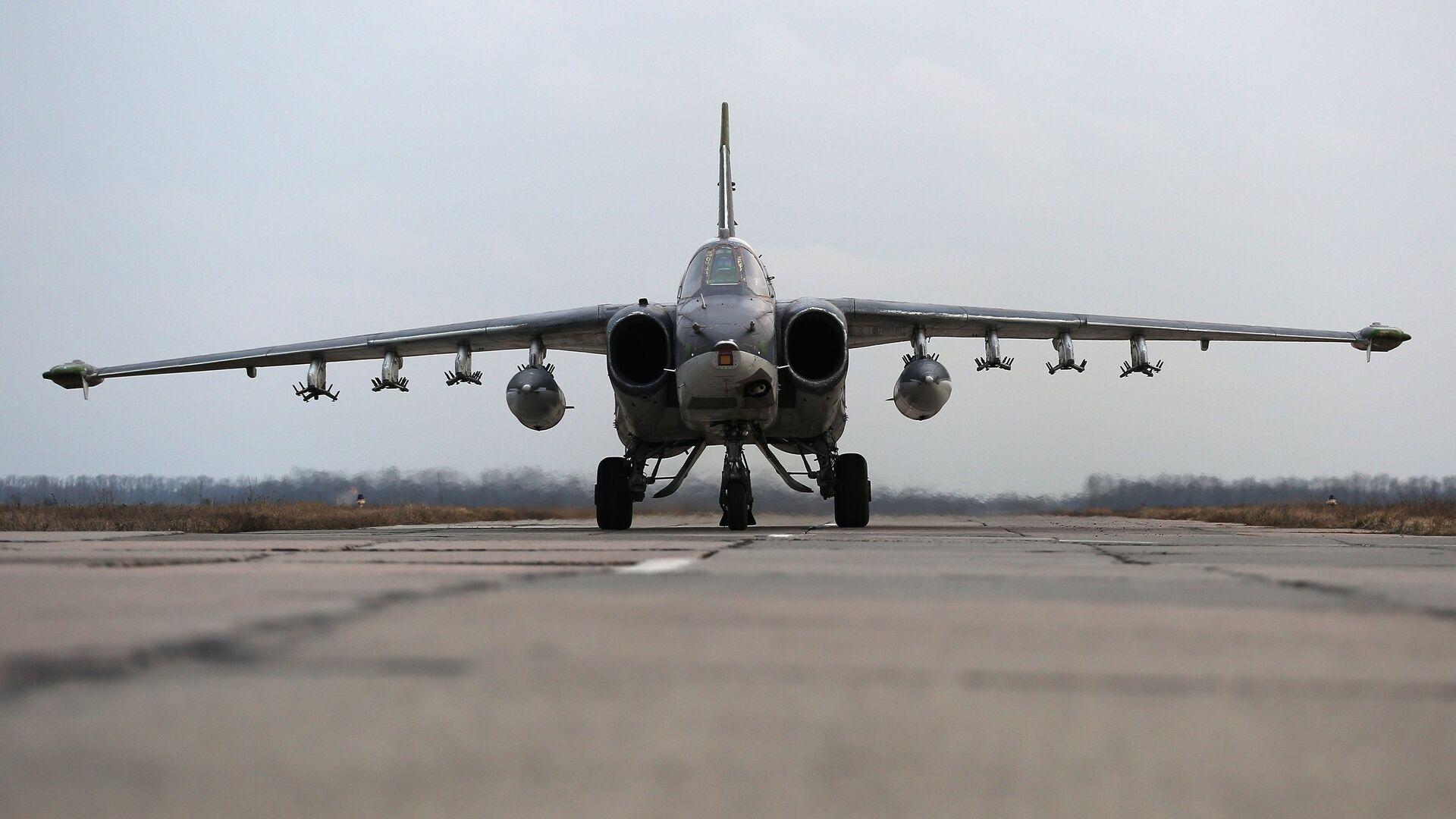 Un avión Su-25 ruso - Sputnik Mundo, 1920, 29.07.2021