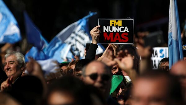 Marcha Federal en Argentina - Sputnik Mundo