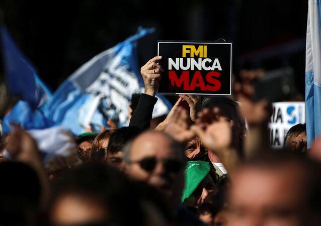 Marcha Federal en Argentina