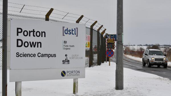 El laboratorio de Porton Down, Reino Unido - Sputnik Mundo
