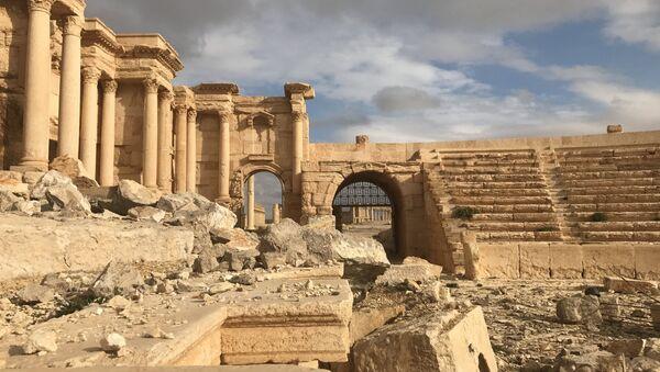 Ruinas de Palmira, Siria - Sputnik Mundo