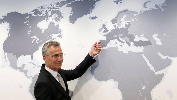 El secretario general de la OTAN, Jens Stoltenberg - Sputnik Mundo