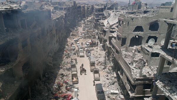 Las ruinas de los edificios en Siria - Sputnik Mundo