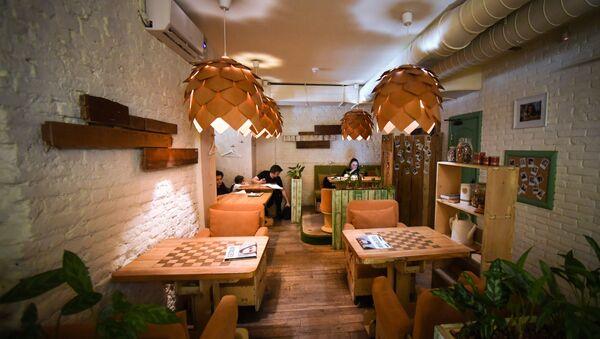 Cafetería Ukrop - Sputnik Mundo