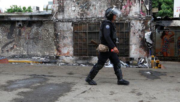 Policía de Nicaragua (archivo) - Sputnik Mundo