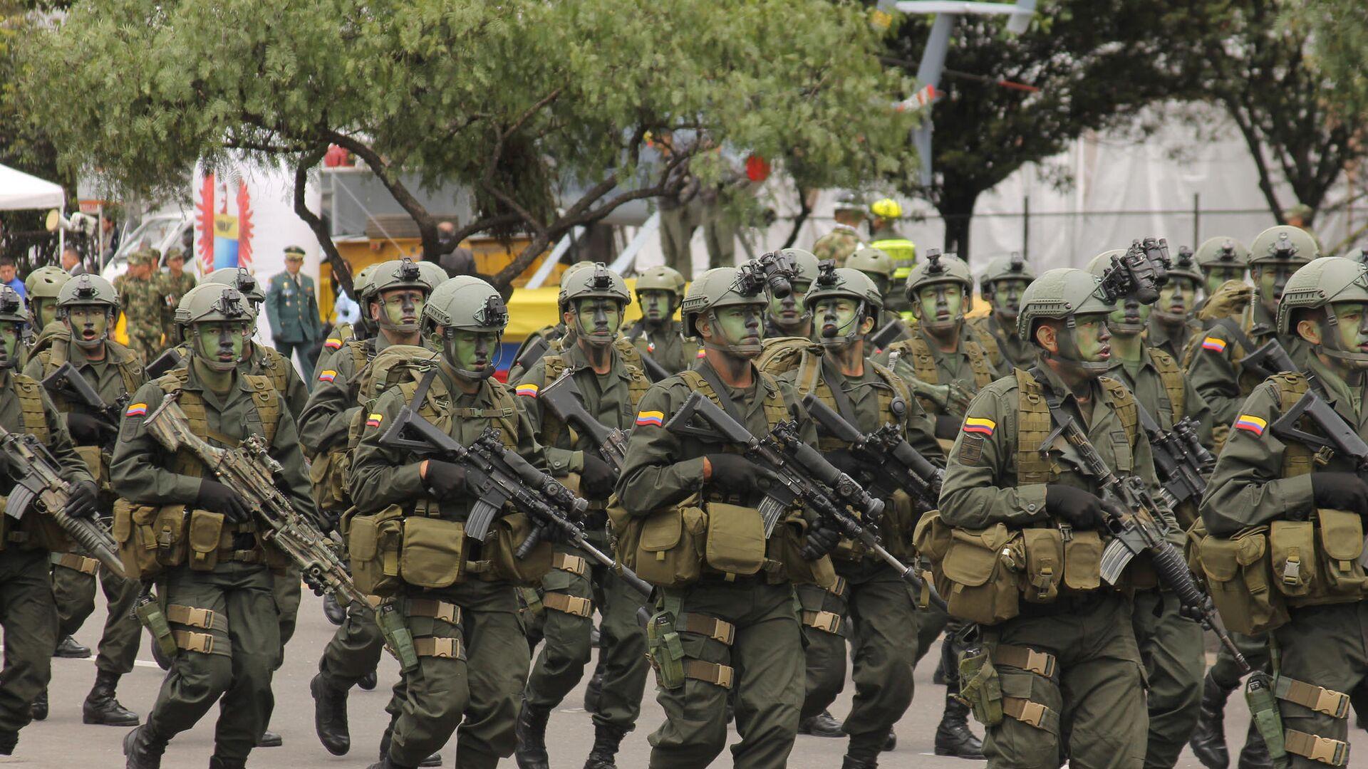 Militares de Colombia - Sputnik Mundo, 1920, 24.02.2021