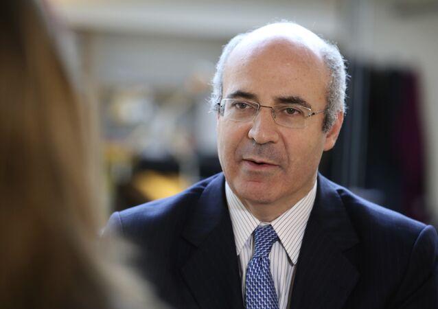 William Browder, jefe del fondo de inversión británico Hermitage Capital (archivo)