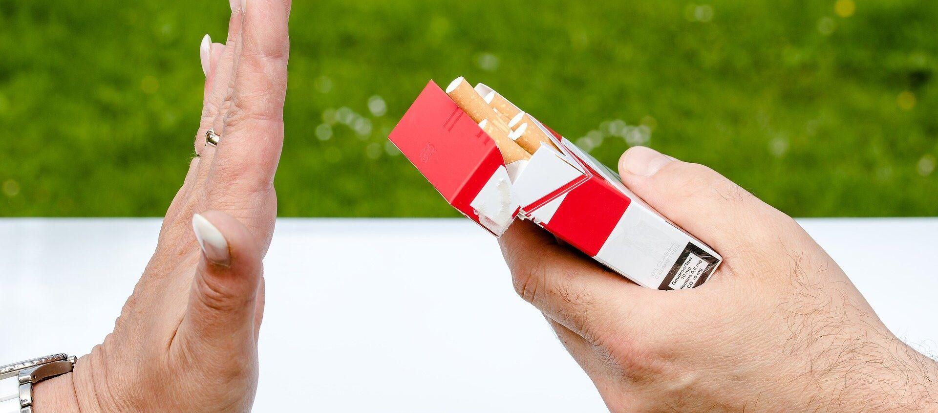 Lucha contra el tabaco (imagen referencial) - Sputnik Mundo, 1920, 05.02.2020