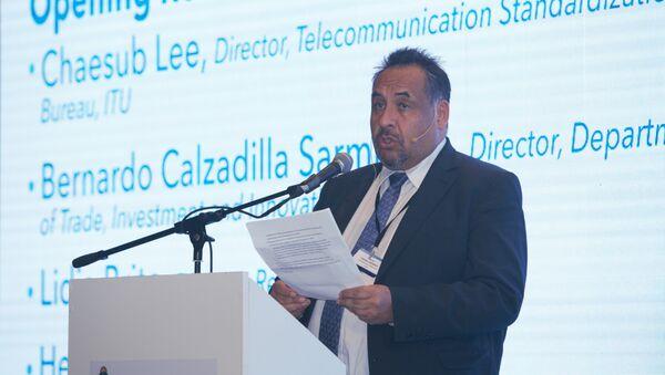 Bernardo Calzadilla, director del Departamento de Innovación de Naciones Unidas para el Desarrollo Industrial - Sputnik Mundo
