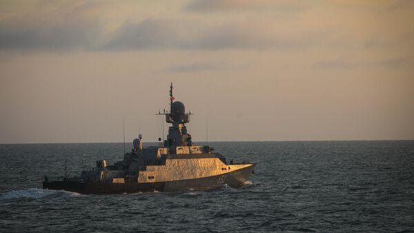 Un buque de la Flotilla del Caspio - Sputnik Mundo