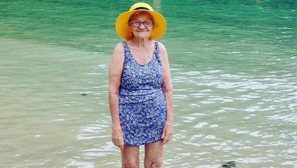 ¡La vida empieza después de los 90!: esta abuelita viajera no te dejará indiferente - Sputnik Mundo