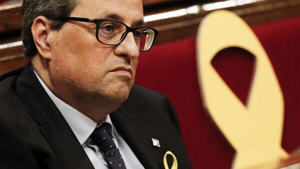 Quim Torra, presidente de la Generalitat de Cataluña - Sputnik Mundo