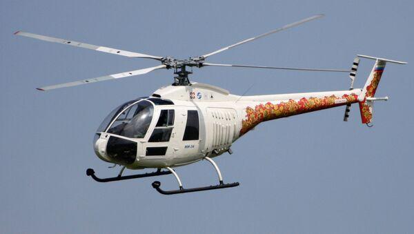 Un helicóptero Mi-34, imagen referencial - Sputnik Mundo