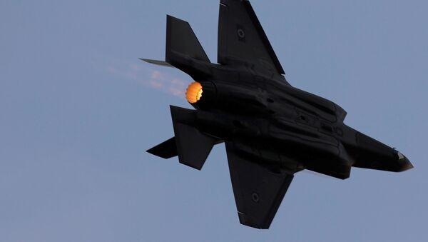 Un F-35A de la Fuerza Aérea de Israel - Sputnik Mundo