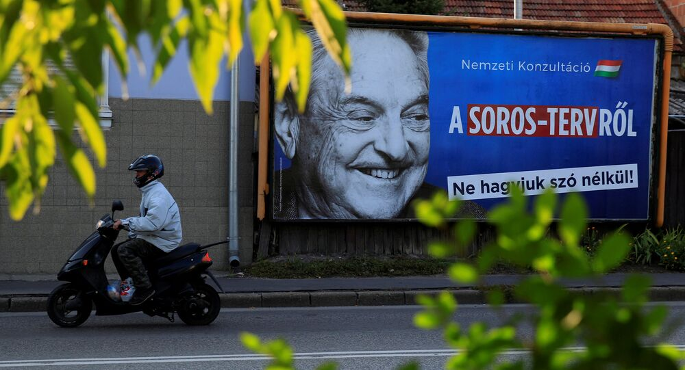 George Soros, multimillonario estadounidense