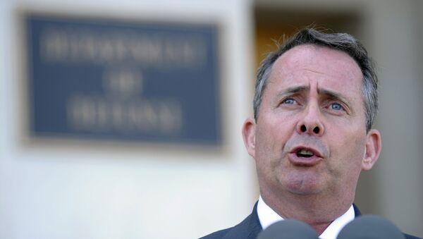 Liam Fox, ministro británico para el Comercio Internacional - Sputnik Mundo