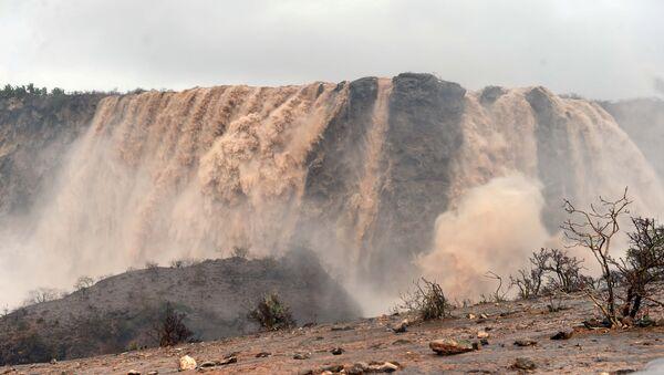 Vista general después del ciclón Mekunu en Salalah, Omán - Sputnik Mundo