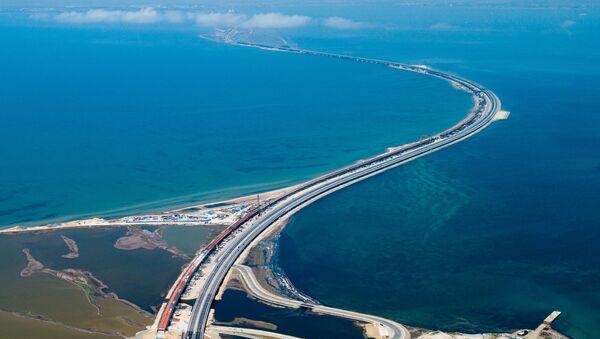 El puente de Crimea - Sputnik Mundo
