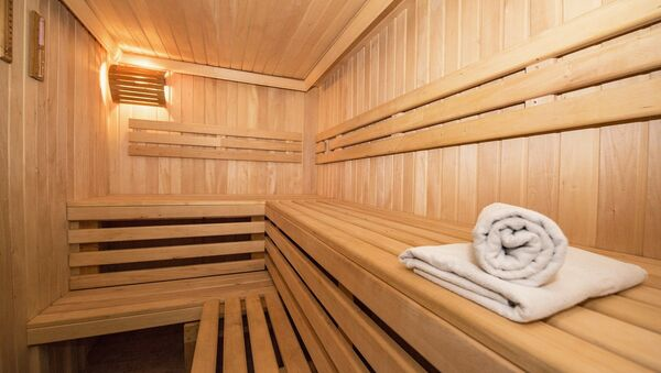 Una sauna - Sputnik Mundo