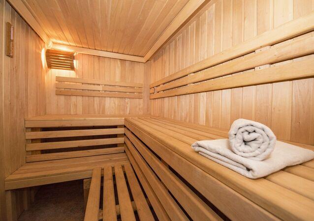 Una sauna