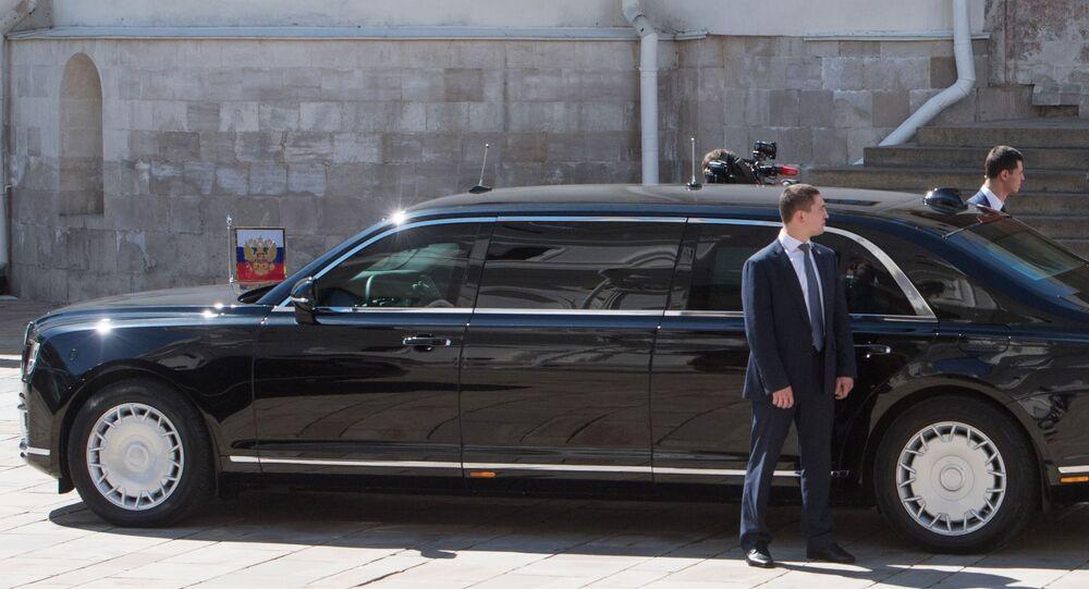 Limusina presidencial Aurus Senat Limousine