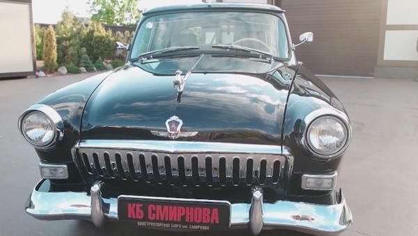 Ponen a la venta un lujoso auto retro, diseñado especialmente para Putin - Sputnik Mundo