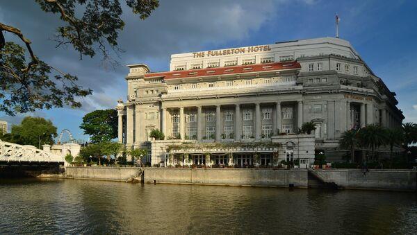 Hotel Fullerton en Singapur - Sputnik Mundo