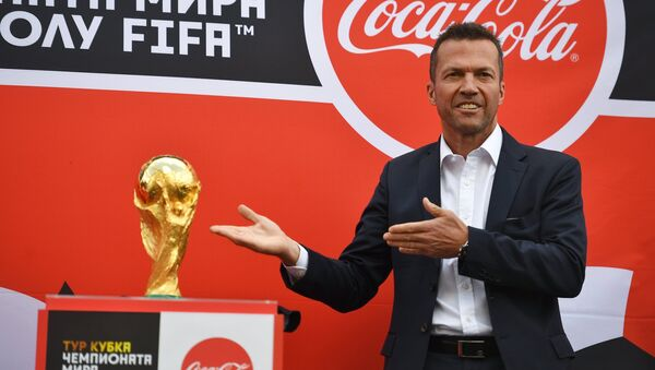 El trofeo del Mundial llega a Moscú - Sputnik Mundo