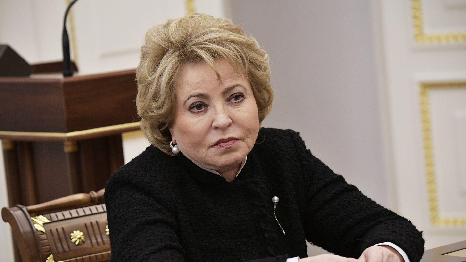Valentina Matvienko, la presidenta del Senado ruso - Sputnik Mundo, 1920, 02.03.2021