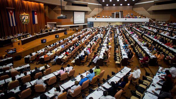 Sesión de la Asamblea Nacional de Cuba en La Habana (Archivo) - Sputnik Mundo