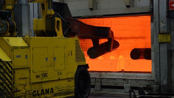 Producción de titanio en la empresa rusa Vsmpo-Avisma - Sputnik Mundo