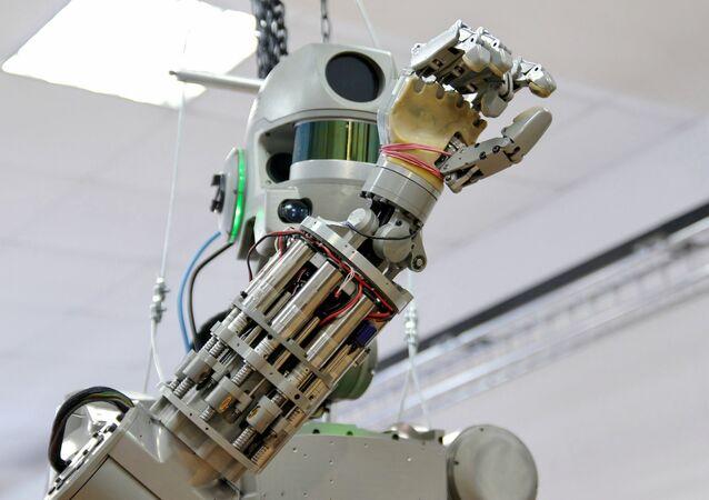 El robot ruso Fedor, el 'familiar' de la nueva creación de Rosatom