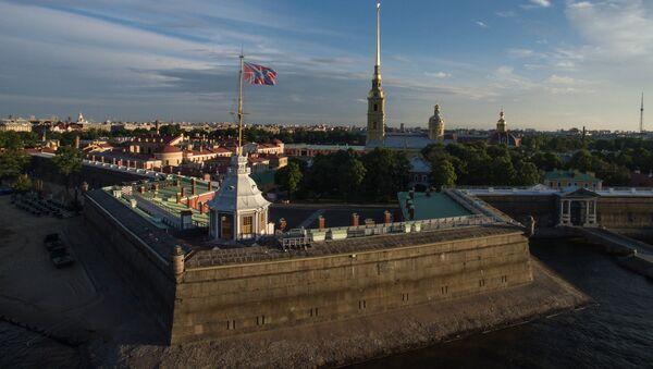 La Fortaleza de San Pedro y San Pablo en San Petersburgo, Rusia - Sputnik Mundo