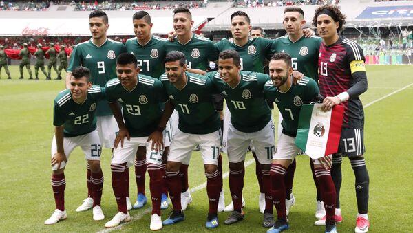 La selección nacional mexicana - Sputnik Mundo