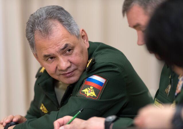Serguéi Shoigú, el ministro de Defensa ruso (archivo)